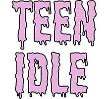 teen idle Photographic Print