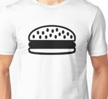 Burger icon Unisex T-Shirt