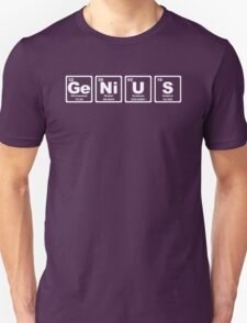 Genius - Periodic Table Unisex T-Shirt