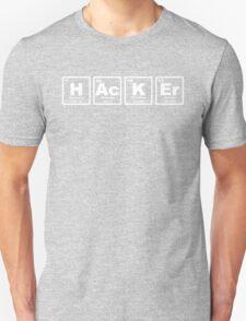 Hacker - Periodic Table T-Shirt