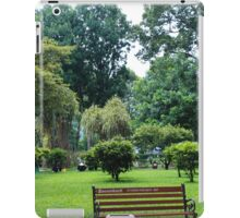 finding peace in the city  iPad Case/Skin