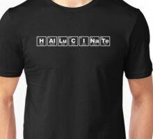 Hallucinate - Periodic Table Unisex T-Shirt