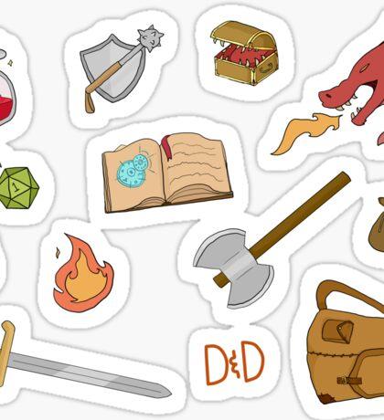 DnD Sticker