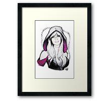 Spider-verse Spider-Woman Framed Print