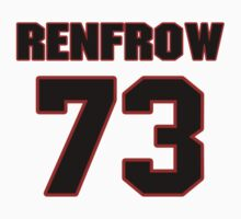 NFL Player Justin Renfrow seventythree 73 by imsport