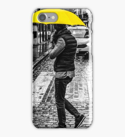 Yellow Umbrella iPhone Case/Skin