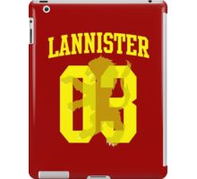 House Lannister Jersey iPad Case/Skin