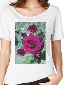 Roses Women's Relaxed Fit T-Shirt