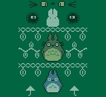 Totoro Christmas Jumper T-Shirt
