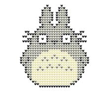 Totoro Christmas Jumper Sticker