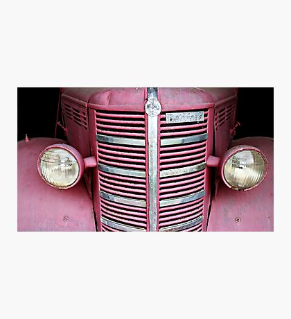 Old Red (Bedford Truck) Photographic Print