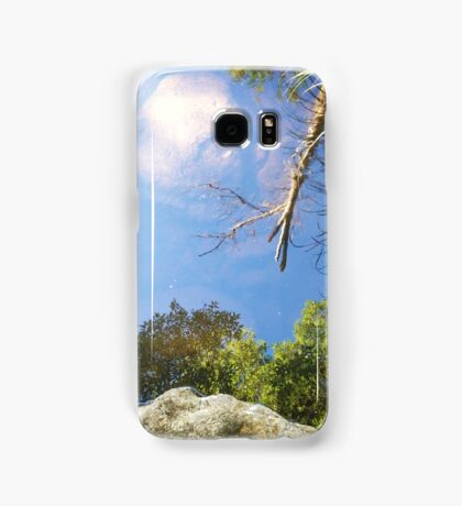 Reflection in a mountain stream Samsung Galaxy Case/Skin