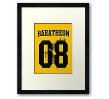 House Baratheon Jersey Framed Print