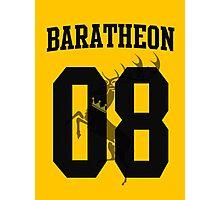 House Baratheon Jersey Photographic Print