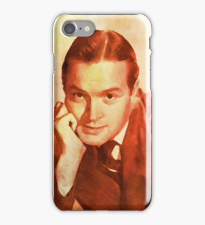Bob Hope, Vintage Comedian iPhone Case/Skin