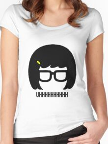 Tina Uhhhhh Women's Fitted Scoop T-Shirt