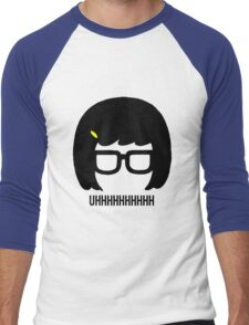 Tina Uhhhhh Men's Baseball ¾ T-Shirt