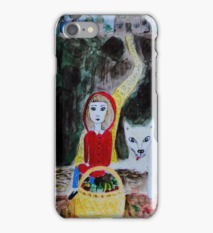 Picknick with the Wolf iPhone Case/Skin