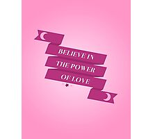 Sailor Moon - The Power of Love Photographic Print