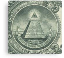 Illuminati and Biscuits Canvas Print