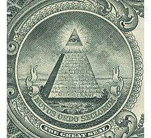 Illuminati and Biscuits Photographic Print
