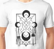 Flames of Good Fortune Unisex T-Shirt