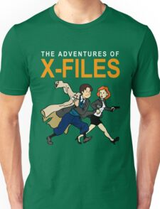 Tin Tin X-Files Unisex T-Shirt