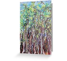 Undulating Wood Greeting Card