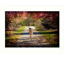 Walk in the Park Art Print