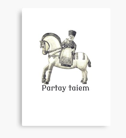 Party Time Canvas Print