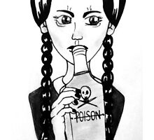 Wednesday Addams- Homicide by Alisha Mansell