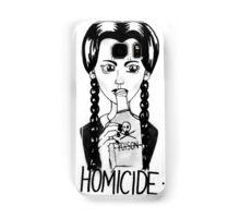 Wednesday Addams- Homicide Samsung Galaxy Case/Skin
