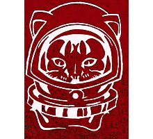 RED GALAXY SPACE CAT SMARTPHONE CASE (Graffiti) Photographic Print