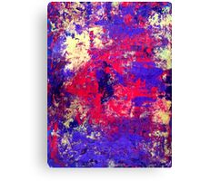 rusted heart Canvas Print