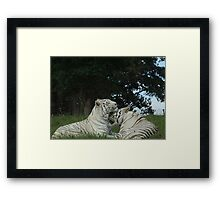 Quite Fond Of You Actually Framed Print