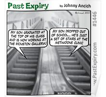 Cartoon : Escalator Envy Poster