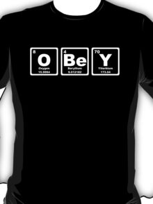 Obey - Periodic Table T-Shirt