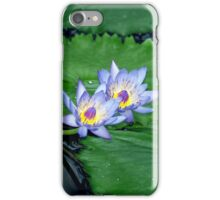 Blue lotus iPhone Case/Skin