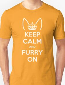 Keep Calm and Furry On T-Shirt