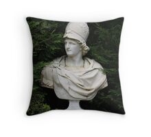 Bust of Alexander the Great Throw Pillow