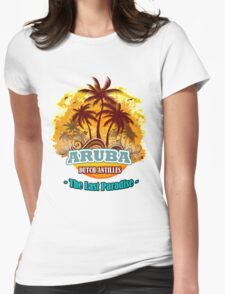 Aruba The LAst Paradise Womens Fitted T-Shirt