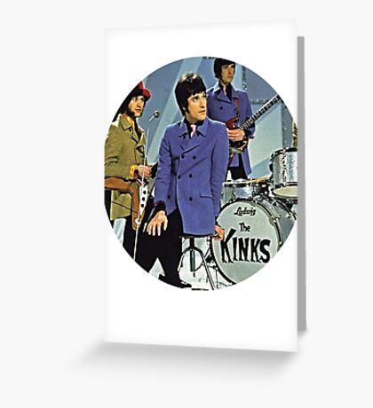 The Kinks Greeting Card