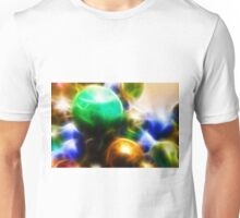 Coloured orbs Unisex T-Shirt