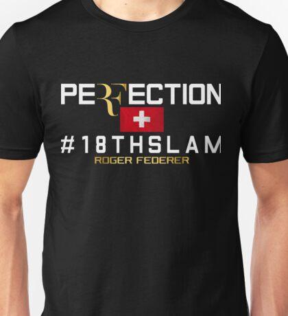 Roger Federer Perfection Unisex T-Shirt