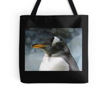Sleepy Snowy Penguin Tote Bag