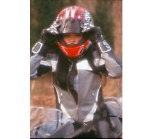 Biker Chick 2 Photographic Print
