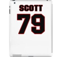 NFL Player Chris Scott seventynine 79 iPad Case/Skin