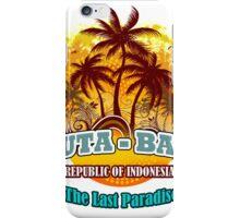 Kuta-Bali The Last Paradise iPhone Case/Skin