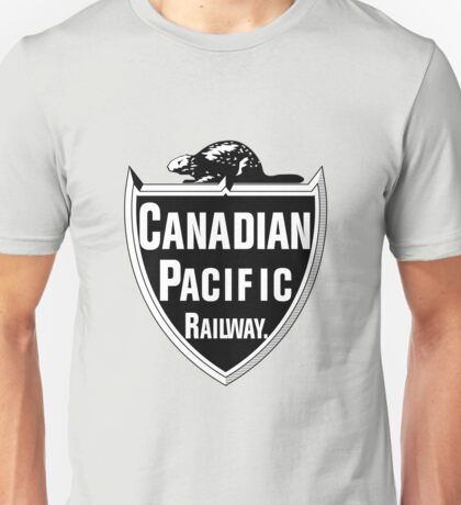 Canadian Pacific Railway Unisex T-Shirt