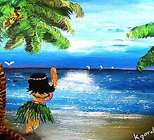 Sweet Wahini....Island Gurl by WhiteDove Studio kj gordon